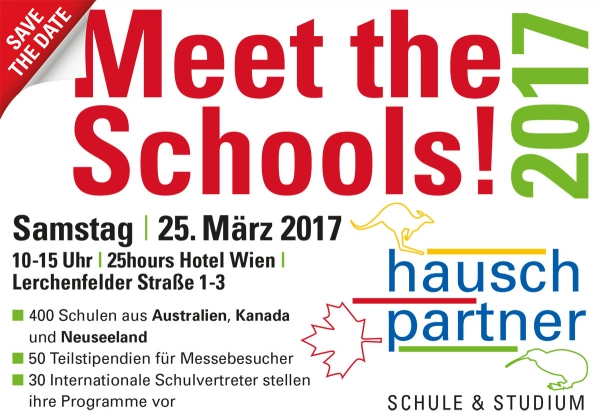 Meet the Schools 2017 Wien