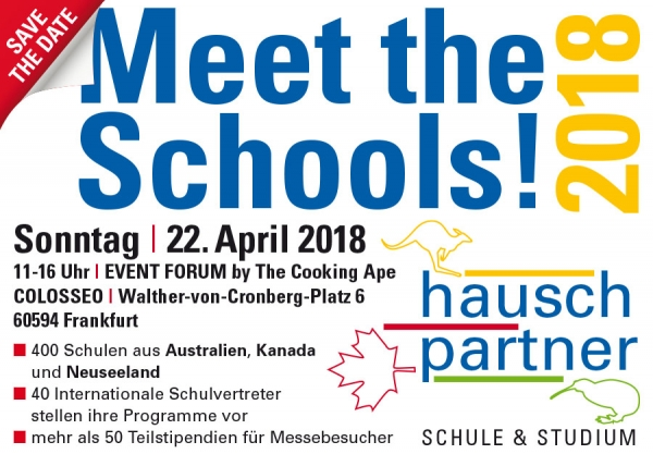 Meet the Schools 2018 Frankfurt