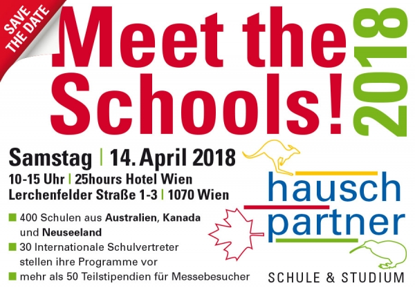 Meet the Schools 2018 Wien