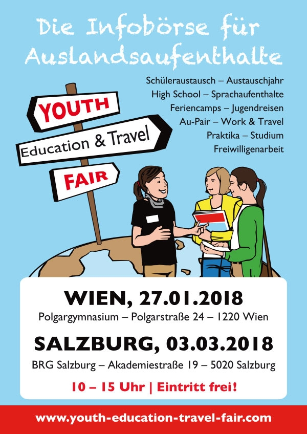 Youth Education & Travel Fair - Salzburg